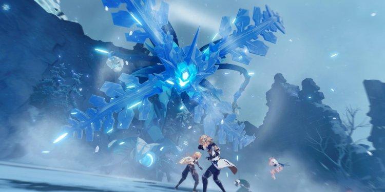 Bản cập nhật sắp tới của Genshin Impact sẽ giới thiệu một khu vực có tên là Dragonspine cùng với hai nhân vật mới