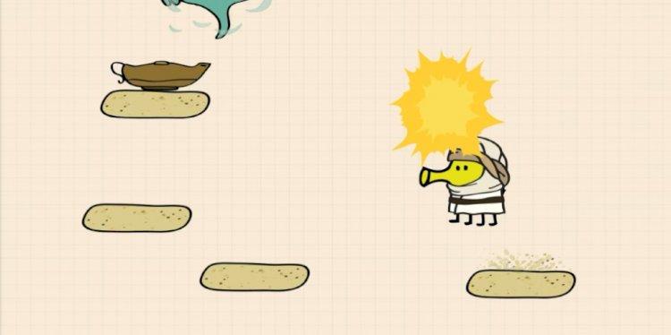 Doodle Jump 2, phần tiếp theo của nền tảng điều khiển độ nghiêng phổ biến, hiện có sẵn cho iOS